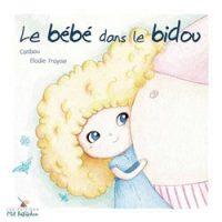 le bébé dans le Bidou Catibou Elodie Fraysse